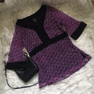 Style and Co. 3/4 Sleeve Blouse